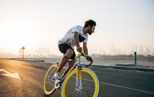 Biking Dubai